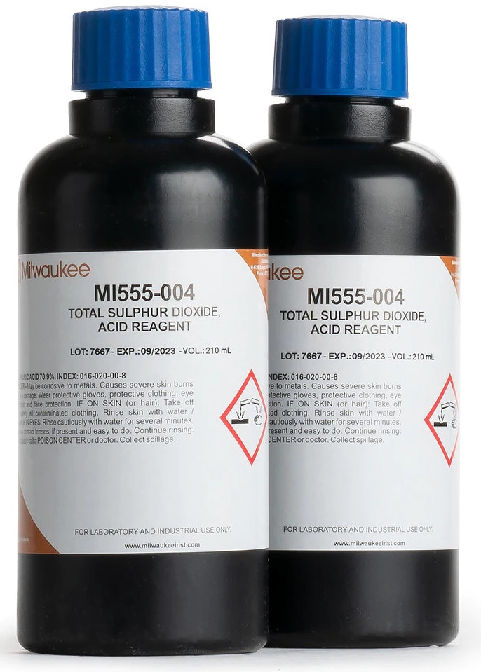 170-5554 - Acid Reagent for Total SO2 (4x100ml)
