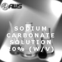 Sodium Carbonate Solution 20% (w/v) 32oz - All World Scientific