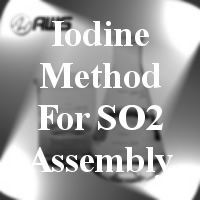 #170-2338  - COMPLETE ASSEMBLY - Iodine Method For SO2 Assembly