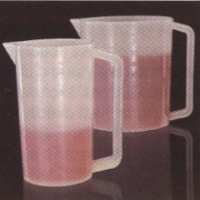 #170-1197 - Beakers, Polypropylene, Reusable, w/Handle 500ml