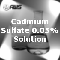 #170-4067 - Cadmium Sulfate 0.05% Solution