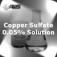 #170-4074 - Copper Sulfate 0.05% Solution