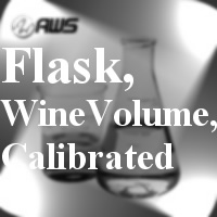 #170-5216 - Flask, Wine Volume,Calibrated