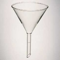 #170-1940 - Funnel, Glass, Utility - (90 mm)