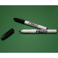 #064-2554 - Markers, Lab, A+ Brand - (Fine Tip Green)