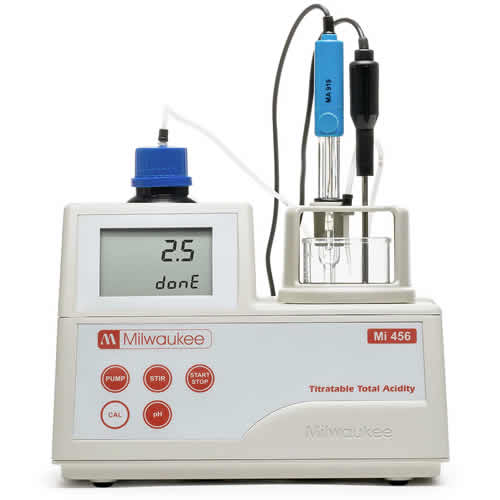 170-0456 - Titratable Total Acidity Mini-Titrator