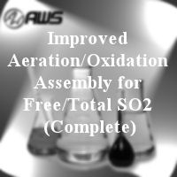 #170-3512 - COMPLETE ASSEMBLY - Improved Aeration Oxidation Assembly for Free/Total SO2