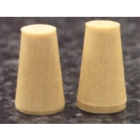 #170-3339 - Stoppers, Gum Rubber, Solid - (6.5)