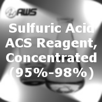 #250-1291 - Sulfuric Acid, ACS, Reagent, Concentrated (95%-98%) - (3.8 L)