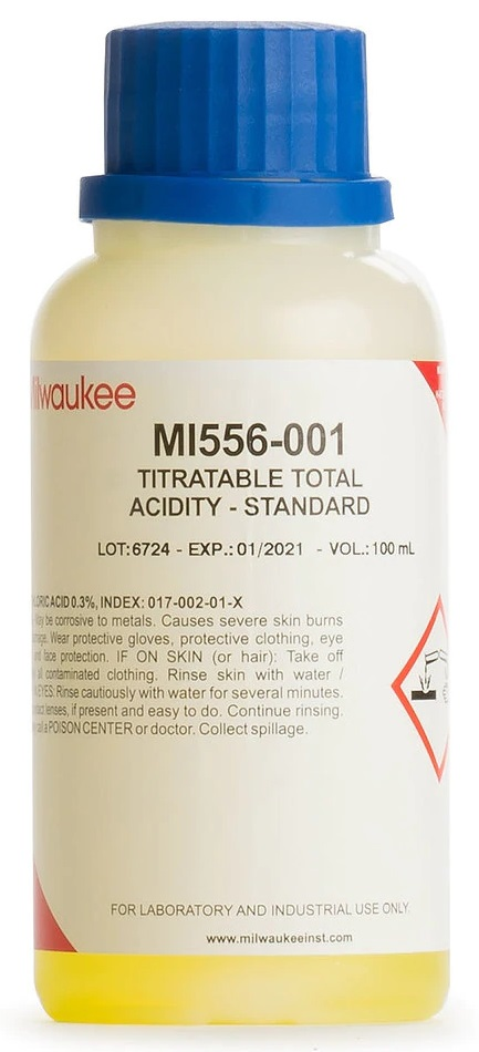 170-5561 - Calibration Standard for Total Acidity (100ml)
